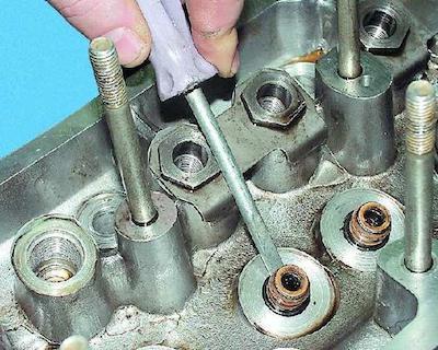 Оправка для выпрессовки и запрессовки втулок клапанов ГБЦ
