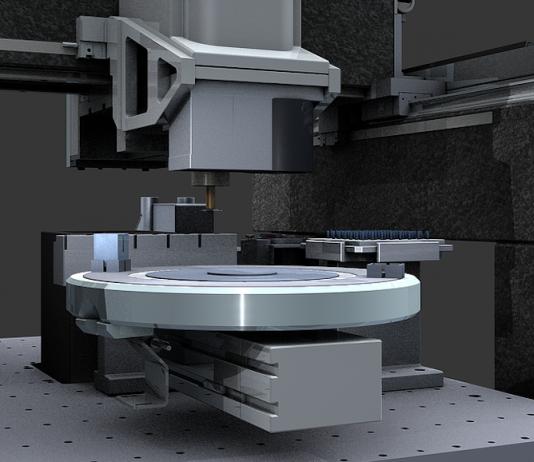Координатный стол для фрезерного станка