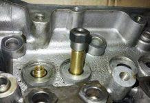 оправка для запрессовки направляющих втулок клапанов