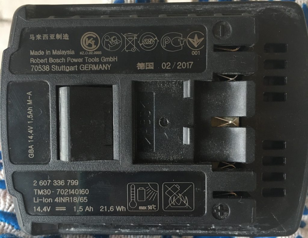 Аккумулятор к шуруповерту BOSCH GSR 1440-Li