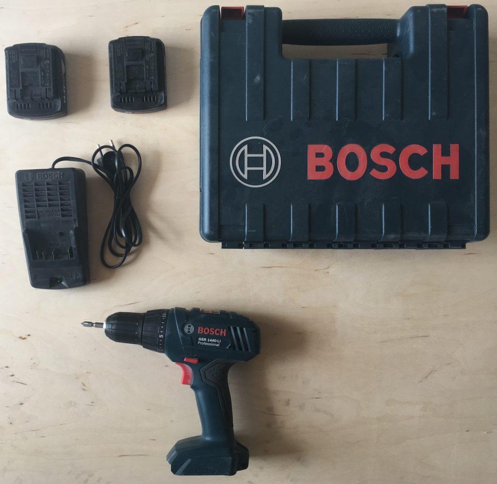 Комплектация шуруповерта BOSCH GSR 1440-Li Professional