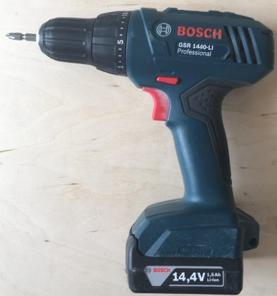 Правая сторона шуруповерта BOSCH GSR 1440-Li