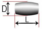 Бочкообразный сферический ролик