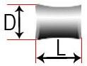 Сферический асимметричный ролик (вогнутый)