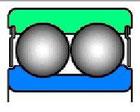 Подшипник радиальный шариковый | 17