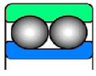 Подшипник радиальный шариковый | 14