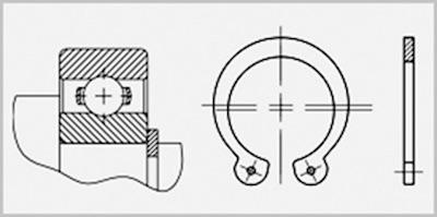 Кольца подшипников - 1