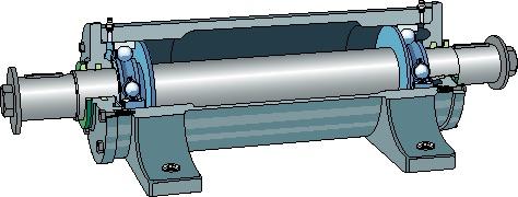 Подшипниковый узел с валом PDNB