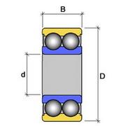 Подшипник компрессора кондиционера - 14
