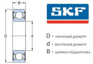 Подшипники SKF - 2