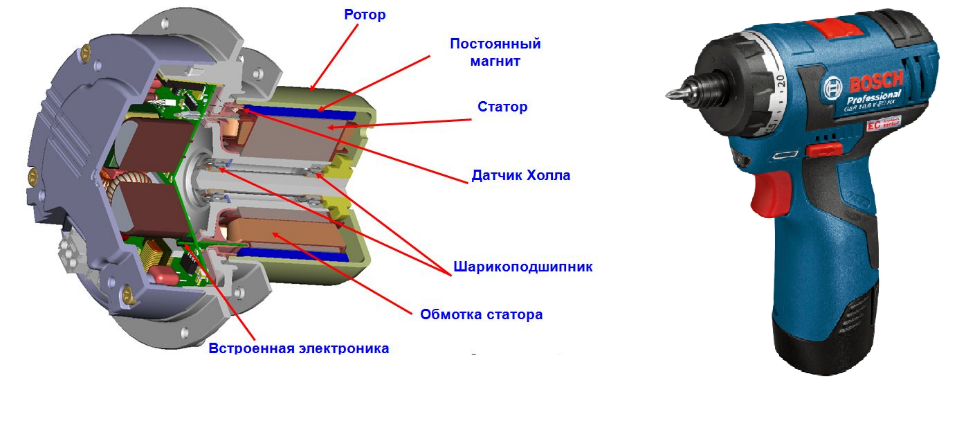 Аккумуляторная ударная дрель bosch - 6