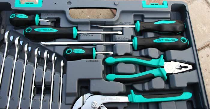 Набор инструментов Stels   4