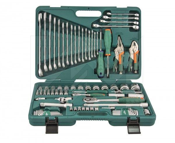 Набор инструментов для авто в чемодане   8