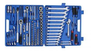 Набор инструментов для авто в чемодане - 10