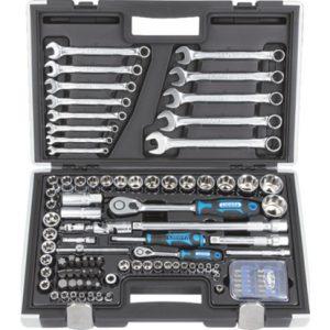 Набор инструментов для авто в чемодане - 12