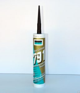 Герметик силиконовый бесцветный - 8