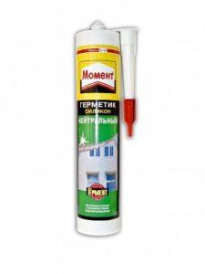 Герметик силиконовый прозрачный - 3