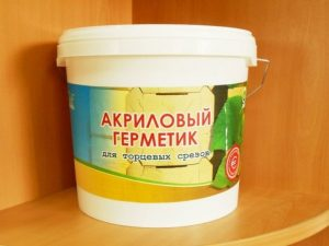 Герметик акриловый для наружных швов - 19