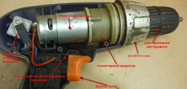 Сетевой шуруповерт Зубр - 1