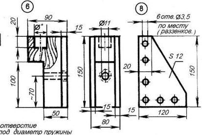 Сверлильный станок из дрели - 17