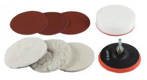 Шлифовальный диск на дрель