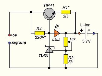 Зарядное устройство для литиевых аккумуляторов | 1