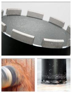 Коронки по бетону размерами 50 мм - 8