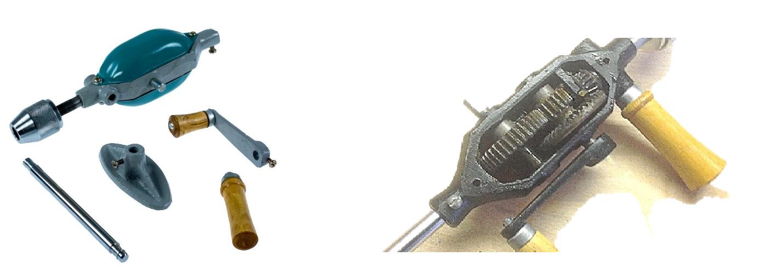 Дрель ручная механическая - 21