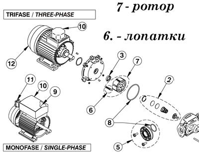 Насос для перекачки топлива на 12 вольт - 4