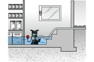 Насос дренажный погружной для грязной воды - 4