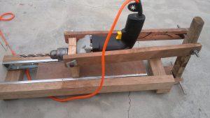 Изготавливаем сверлильный станок из дрели своими руками | 12