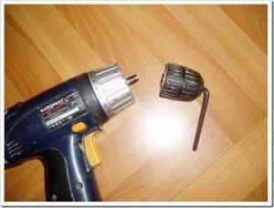Как снять патрон с шуруповерта - 3
