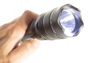 Фонарь аккумуляторный светодиодный мощный - 2