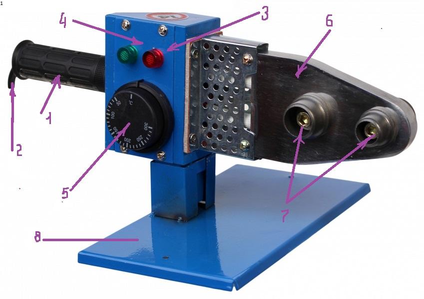Аппарат для сварки пластиковых труб - 8