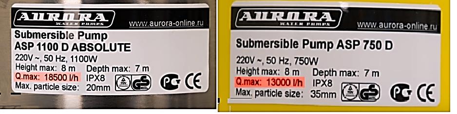 Дренажный насос для грязной воды - 1