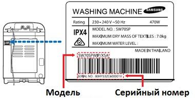Запасные части для стиральных машин - 4
