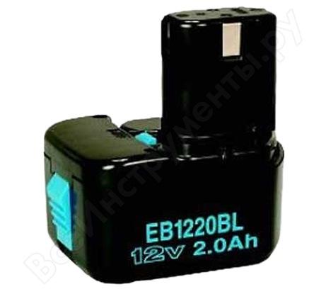 Аккумулятор (12 В; 2 А*ч; NiCd) EB1220BL Hitachi 320387