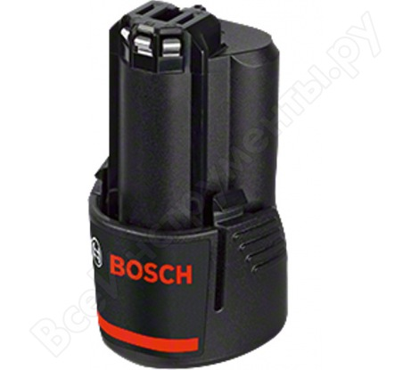 Аккумулятор (12 В; 3.0 А*ч; Li-Ion) Bosch 1600A00X79