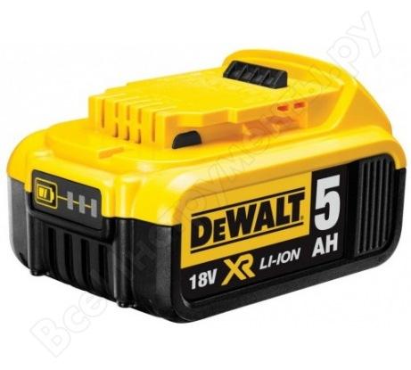 Аккумулятор (18 В; 5.0 А*ч; Li-Ion) DeWALT DCB 184