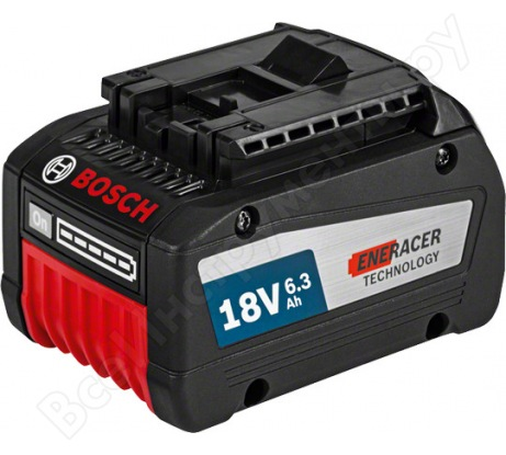 Аккумулятор (18 В; 6.3 А*ч; Li-Ion) Bosch 1600A00R1A