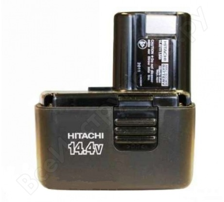 Аккумулятор BCC1415 для шуруповерта DS14DVF3 (14,4 В; 1,5 А*ч; Ni-Cd) Hitachi HTC-333159