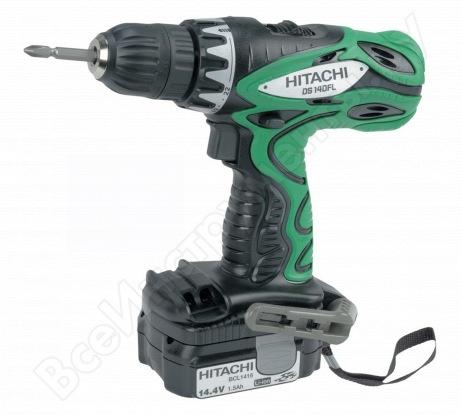 Аккумуляторная дрель-шуруповерт Hitachi DS 14 DFL