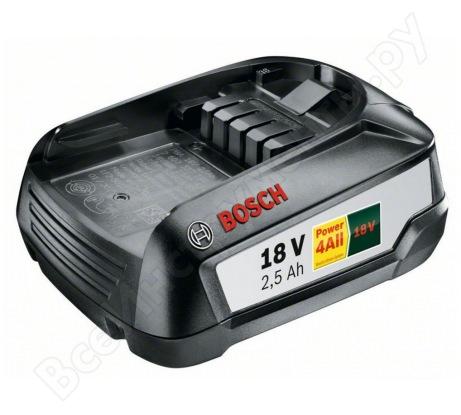 Аккумуляторный блок PBA (18 В; 2,5 А*ч) W-B Bosch 1600A005B0