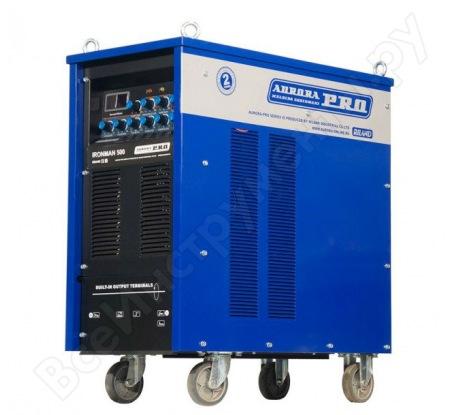 Аргонодуговой сварочный инвертор Aurora PRO IRONMAN 500 AC/DC PULSE IGBT 10053