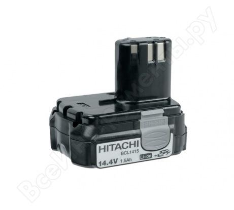 Батарея аккумуляторная BCL1415 для шуруповертов (14,4 В; 1,5 А*ч; Li-Ion) HITACHI 327729