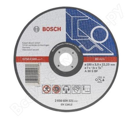 Диск отрезной по металлу 150х22 мм Bosch 2.608.600.382