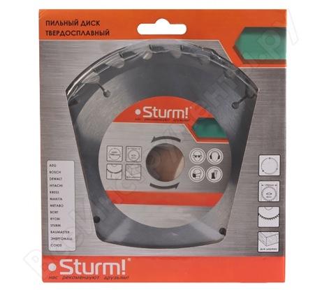 Диск пильный по дереву (125х22 мм; 48T) Sturm 9020-125-22-48T