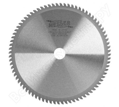 Диск пильный ТСТ по аллюминию (230х25.4 мм) MESSER 10-40-235