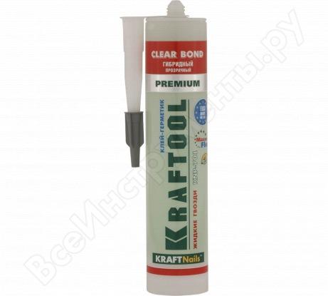 Экстрасильный универсальный монтажный клей 310мл Kraftool KraftNails Premium KNP-701 41340_X