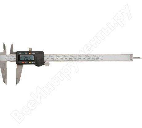 Электронный штангенциркуль TOPEX 200 мм 31C625